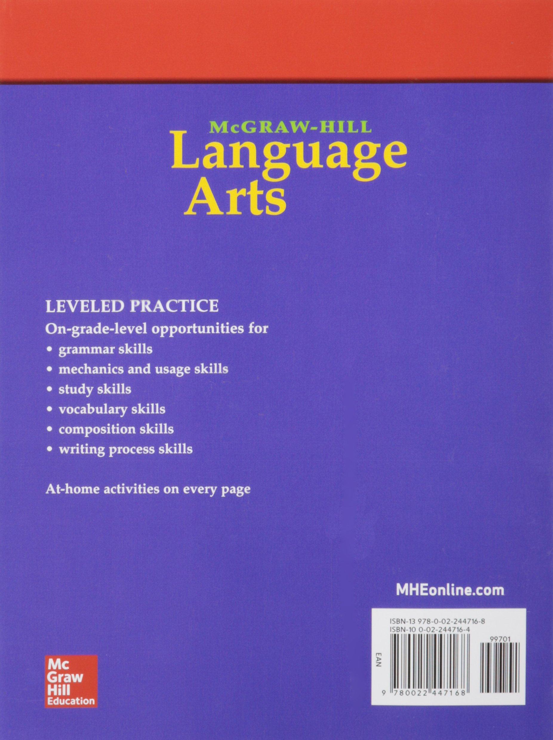 Mcgraw hill language arts grade 4 practice workbook older mcgraw hill language arts grade 4 practice workbook older elementary language arts mcgraw hill education 9780022447168 amazon books fandeluxe Image collections