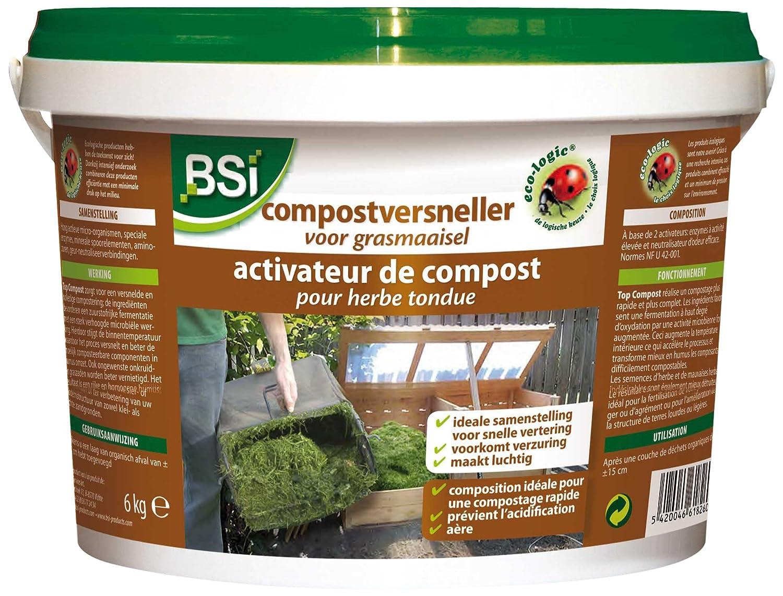 BSI 18260 - Activador de Compost para Hierba Cortada: Amazon ...
