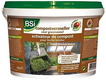 BSI 18260 - Activador de Compost para Hierba Cortada: Amazon.es: Jardín