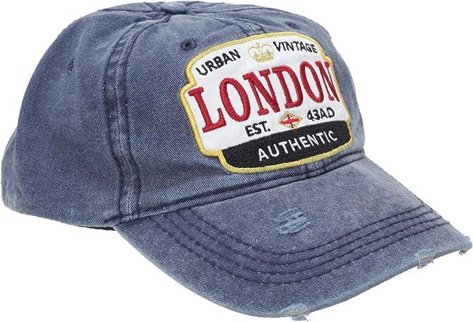 Nvolved London - Gorra diseño desgastado para adultos unisex ...