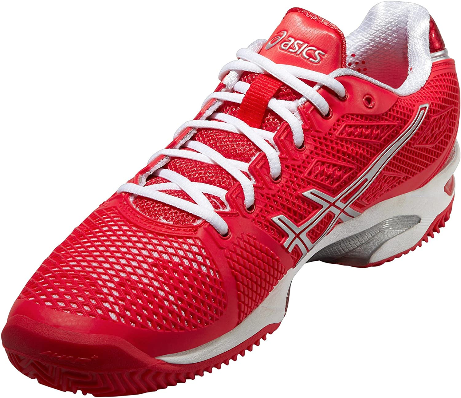 Asics Scarpe Gel Solution Speed Clay 2 Donna, Hibiscus