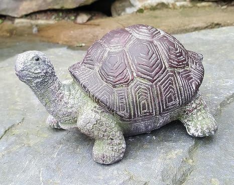 Décoration de jardin - En forme de tortue - En céramique - Pour l ...