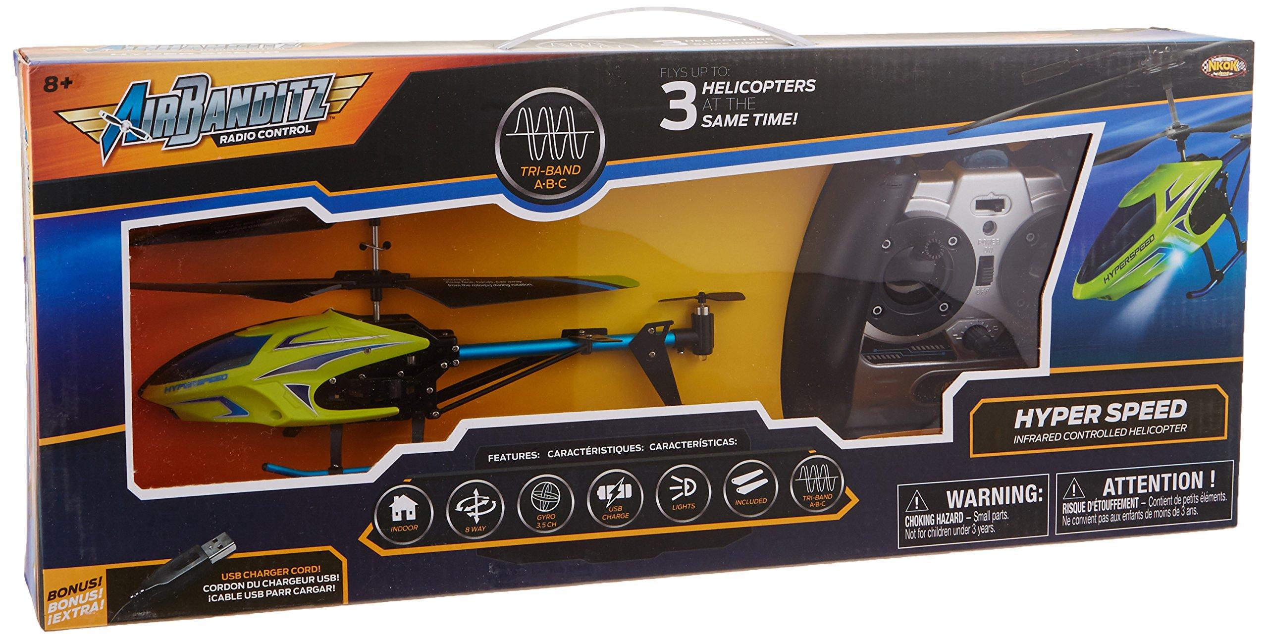 NKOK Air Banditz 3.5CH IR/USB Hyperspeed Remote Control Toy