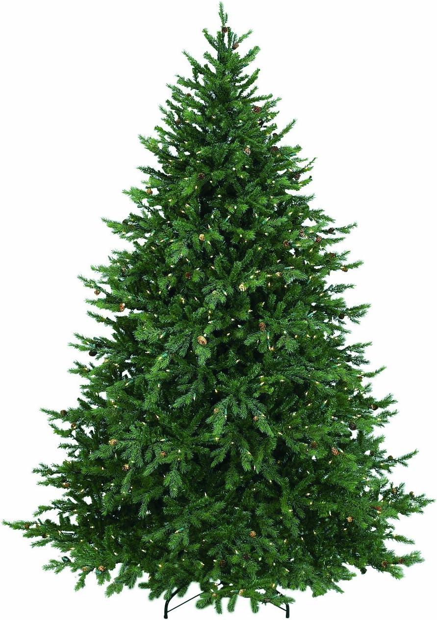Bethlehem Lighting Pre-Lit Hunter Fir Christmas Tree w/300 Clear Mini Lights, 4.5Ft
