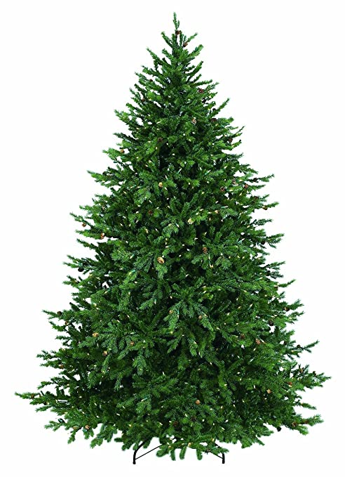 Image Christmas Tree.Bethlehem Lighting Pre Lit Hunter Fir Christmas Tree W 300 Clear Mini Lights 4 5ft