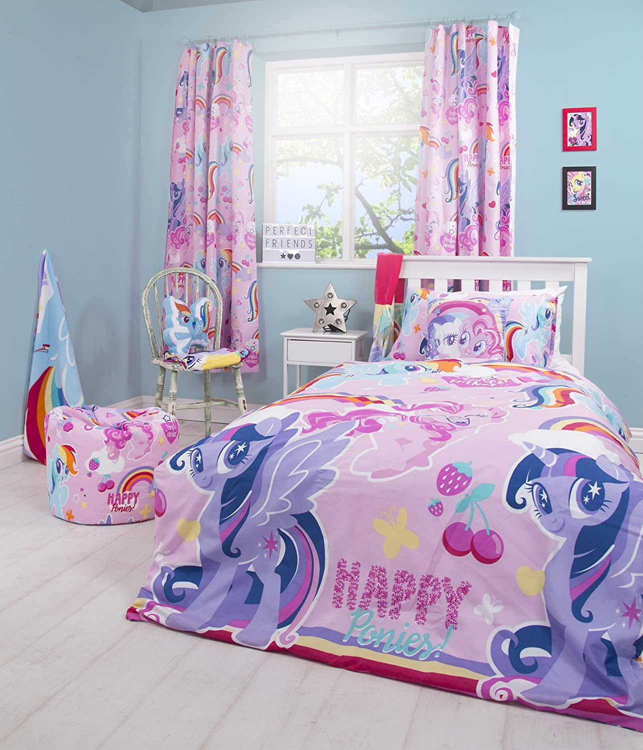 My Little Pony Crush Childrens Bedroom 72 Inch Curtains Perfect For Any Girls Bedroom