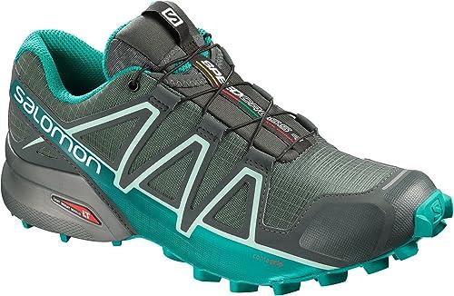 Salomon Speedcross 4 GTX W, Calzado de Trail Running, Impermeable para Mujer: Amazon.es: Zapatos y complementos
