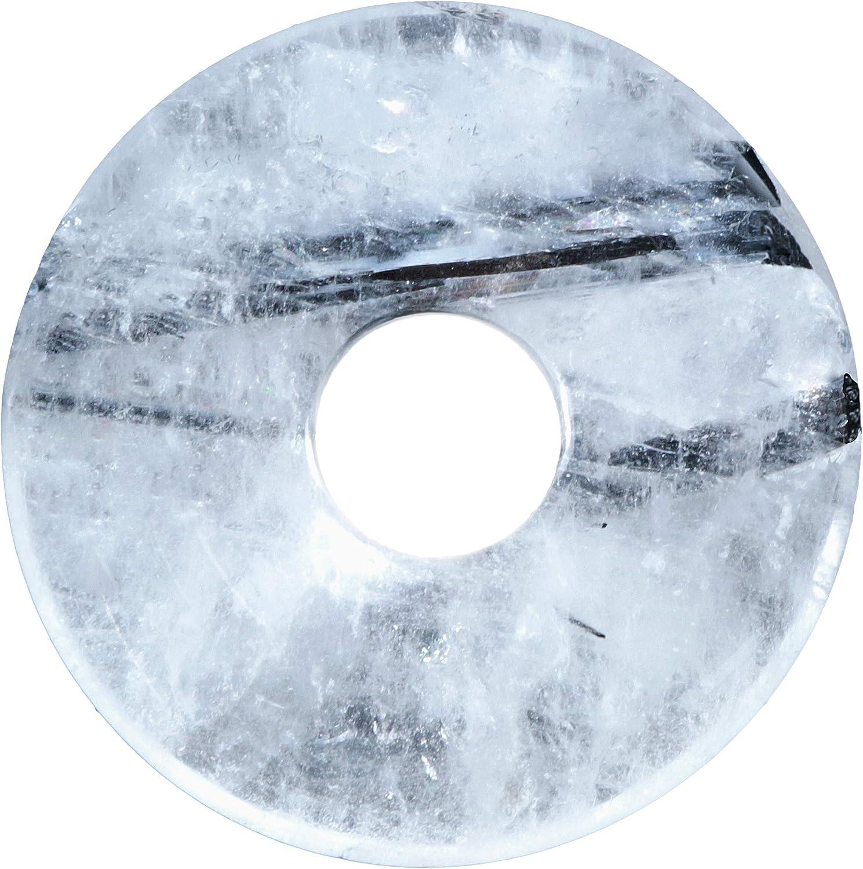 Lebensquelle Plus Turmalinquarz Piedras Preciosas Donut Ø 30 mm Seguidores