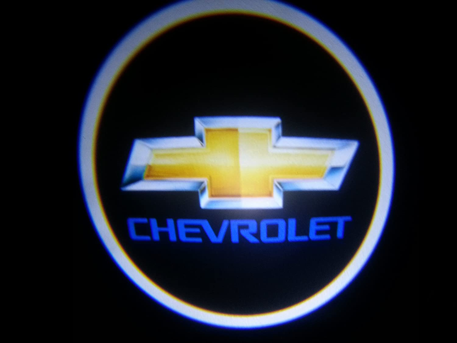Amazon chevy chevrolet ghost door logo projector shadow amazon chevy chevrolet ghost door logo projector shadow puddle laser led lights 7w qty 2 from usa musical instruments buycottarizona Image collections