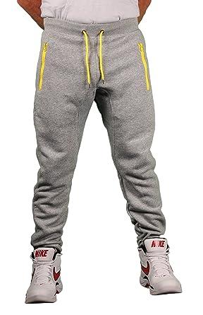 8d842a6a8d07 Amazon.com  Brooklyn Xpress Men s Fleece Jogger Pant w Zippered ...