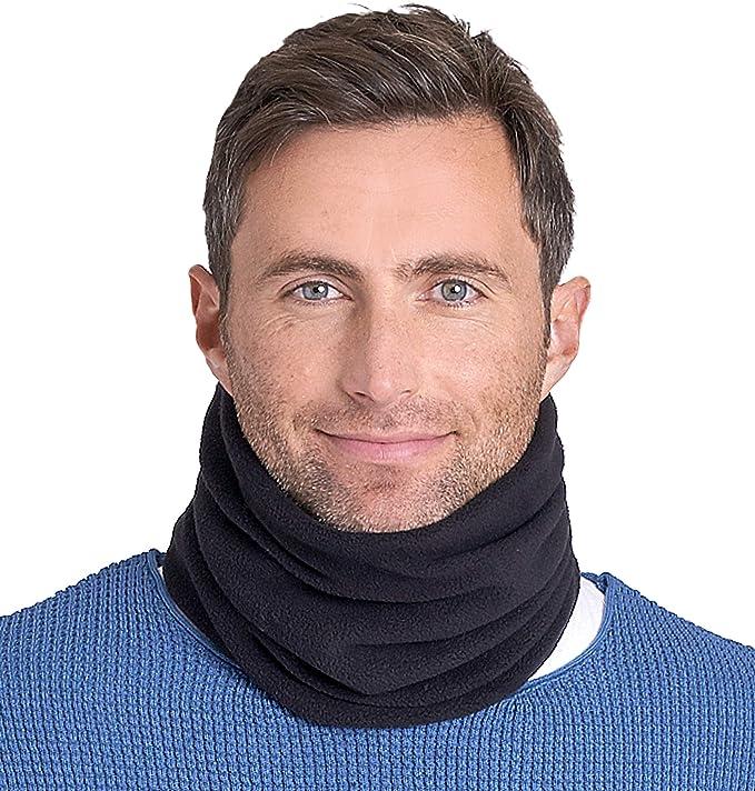 Men//Women Shawl Fleece Snood Scarf Neck Warmer Ski Beanie Hat Balaclava Scarf YW
