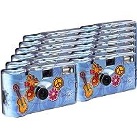 TopShot - Fotocamere usa e getta, 27 foto, flash, confezione da 12