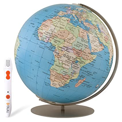 Amazon.com: Columbus Expedition Interactive Globe: Office Products