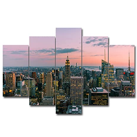 3 pieces modern canvas painting wall art the picture for home decoration los angeles new york