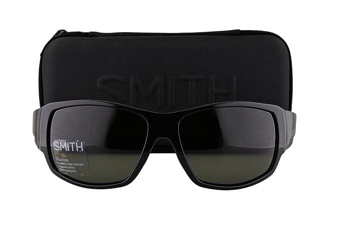 9531a739d5 Smith Dockside Sunglasses Matte Black w Polarized ChromaPop Gray ...
