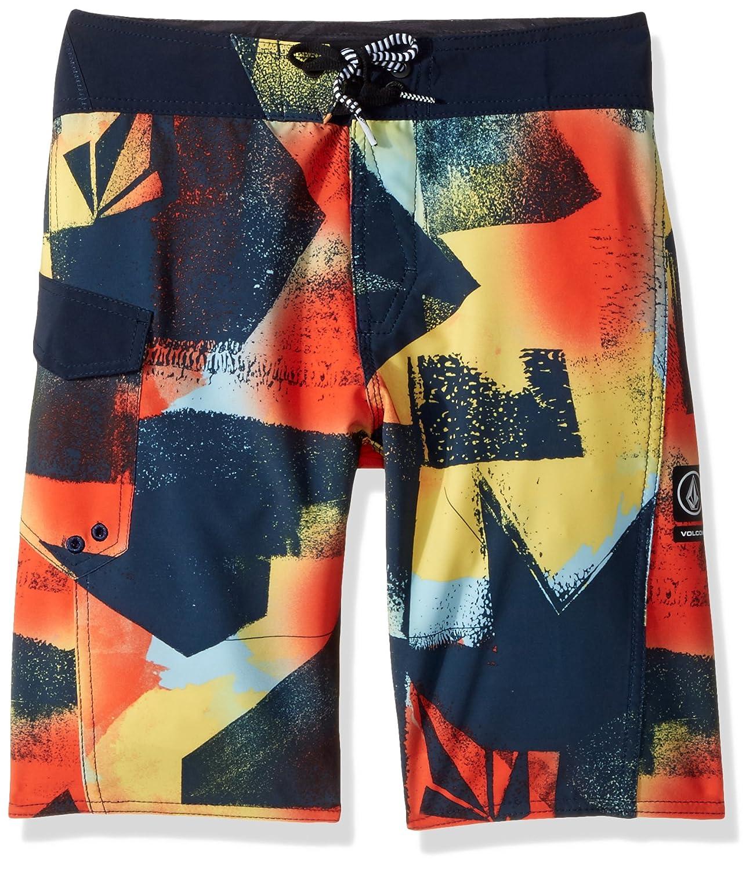 a8ba4355ba Amazon.com: Volcom Boys' Costa Paste Up Mod Youth Boardshort: Clothing