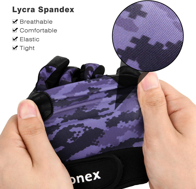 Gonex protecci/ón completa de los dedos para bateo de b/éisbol y softball bicicleta bicicleta Guantes de ciclismo para hombre y mujer pantalla t/áctil