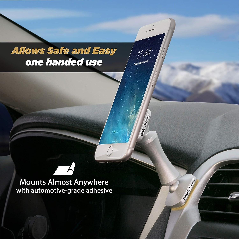Home or Office SCOSCHE MEDSR Magicmount Elite Universal Magnetic Smartphone//GPS Mount for The Car