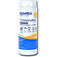 Kem-Tek 2815-6 Chlorinating Tablets 1-Inch Pool and Spa Chemicals, 1.5-Pound