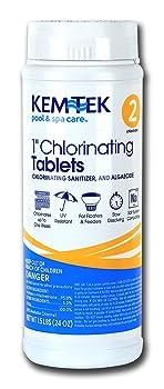 Kem-Tek 2815-6 1-Inch Chlorinating Tablets