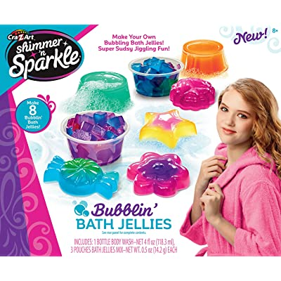 Shimmer and Sparkle Make Your Own Bubblin Bath Geleez: Toys & Games