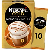 Nescafe Gold Caramel Latte. 17g Sachet (10 Sachets)