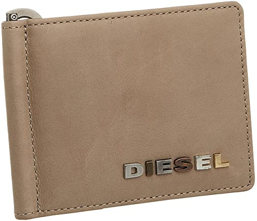 Diesel para Hombre Chinta Money Clip Wallet, Color Hueso ...
