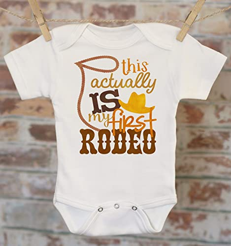 2cb6106ba8 Amazon.com: My First Rodeo Onesie, Country Boy Onesie, Funny Baby Onesie,  Cute Boy Outfit, Country Baby Clothes, Cowboy Onesie, Boho Baby Onesie:  Handmade