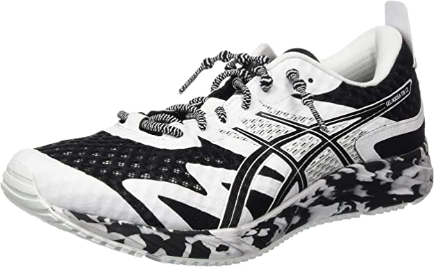 ASICS Gel-Noosa Tri 12 Road Running Shoe Herren Sneakers Schwarz/Weiß