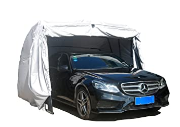 Ikuby 100% Waterproof SUV Carport Car Shelter Car Canopy Car Garage  sc 1 st  Amazon.com & Amazon.com: Ikuby 100% Waterproof SUV Carport Car Shelter Car ...