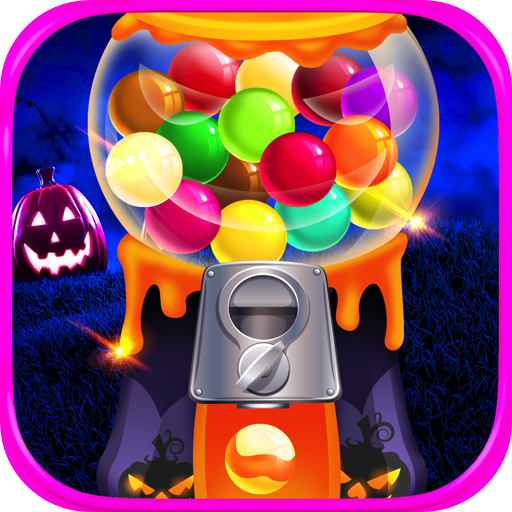 Halloween Bubble Gum Maker - Kids Gumball & Dessert Food Cooking Games -