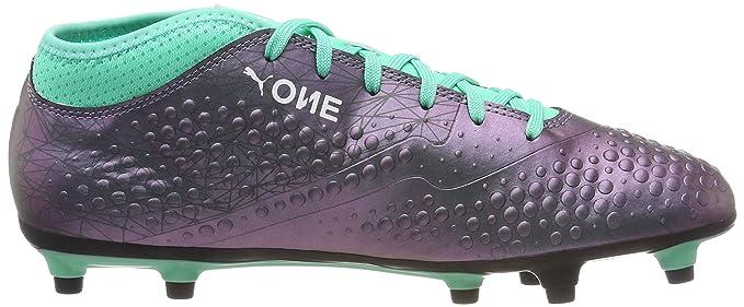 99e31c19d Amazon.com: PUMA ONE 4 Illuminate SYN Firm Ground Mens Football Boots -  Green: Sports & Outdoors