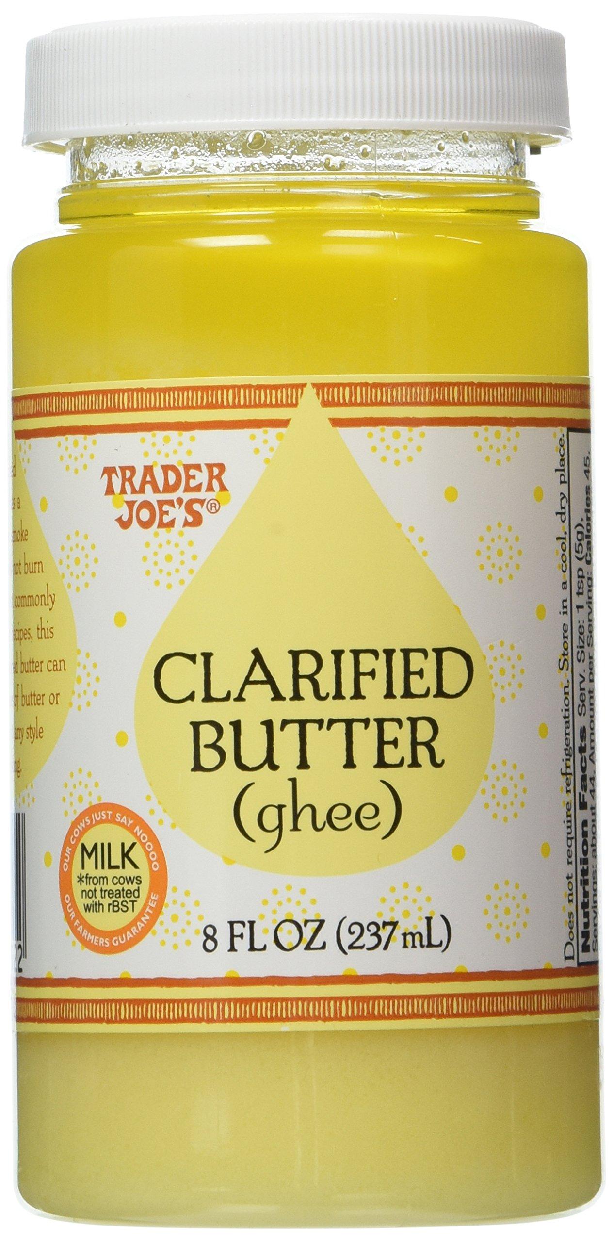 Trader Joe's Clarified Butter (Ghee) (2 - 8 oz Jars)