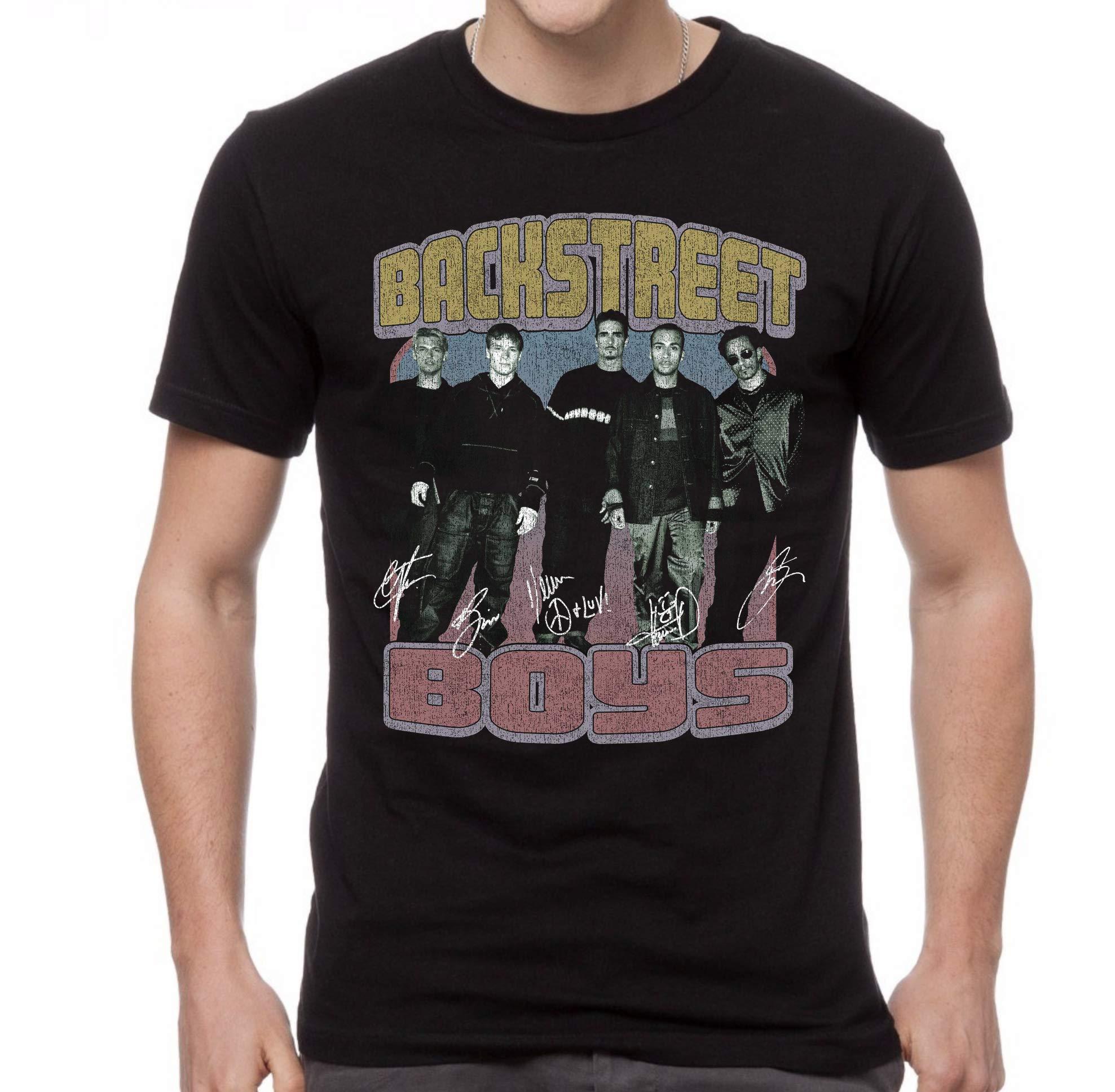 Backstreet Signature Vintage Photo Distressed Print Adult T Shirt 2106