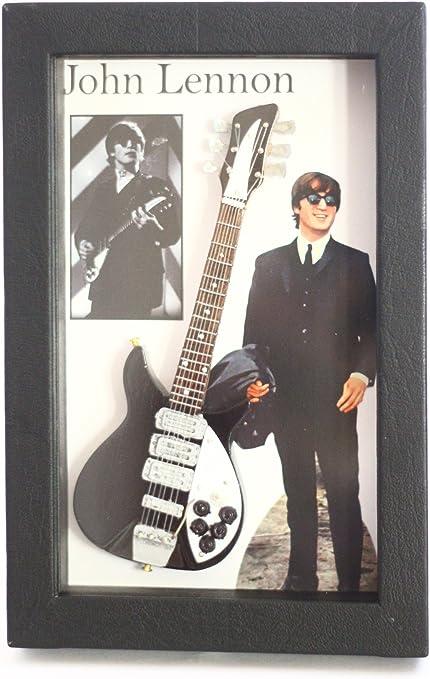 RGM8806 John Lennon The Beatles Colección de guitarra en miniatura ...
