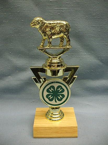 Amazon com : 4H County fair Trophy Sheep on Riser Award