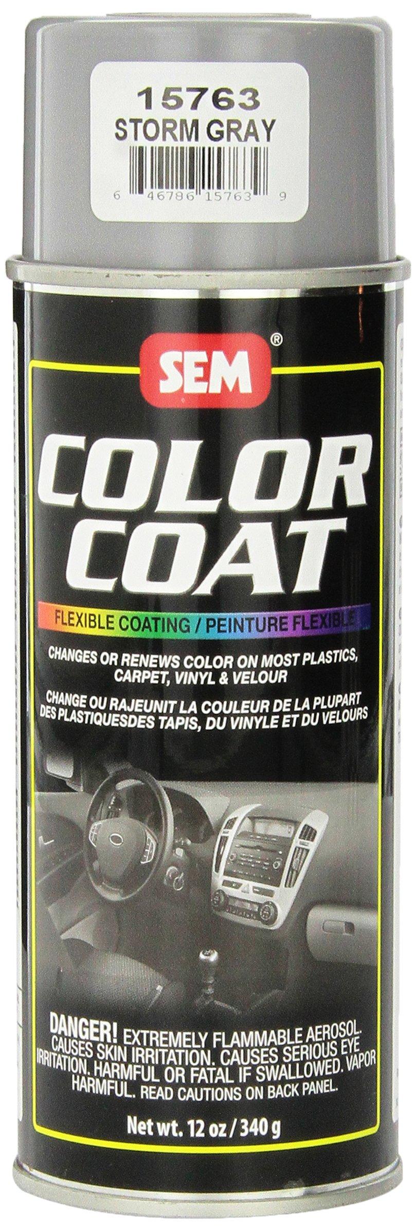 SEM 15763 Storm Gray Color Coat - 12 oz.