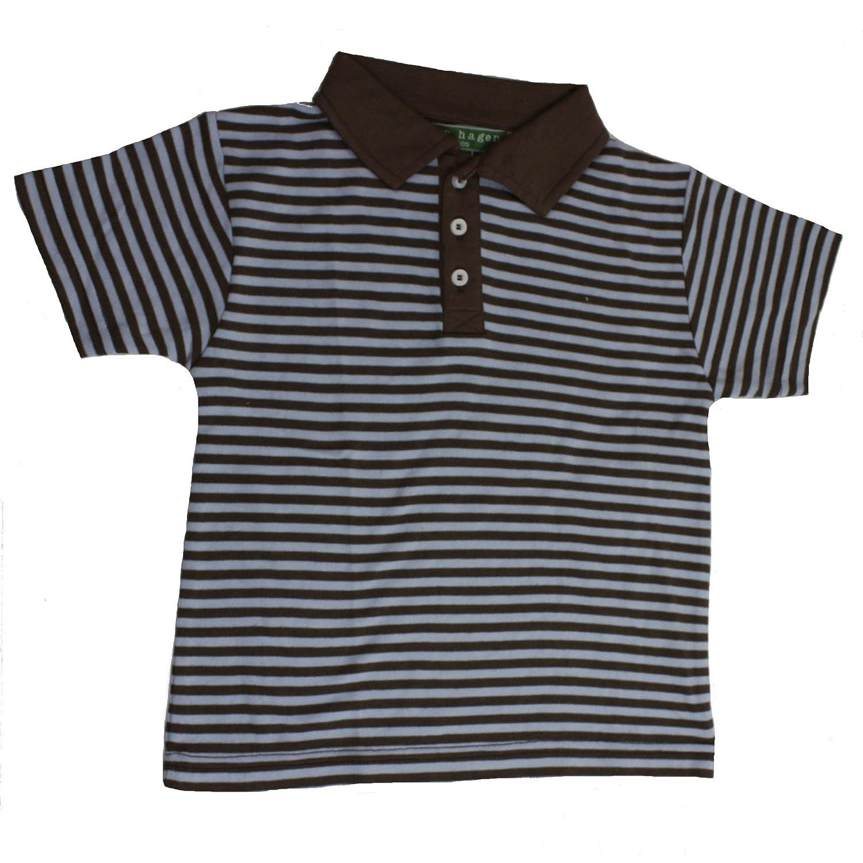 Amazon Amber Hagen Boys Striped Polo Shirt Clothing