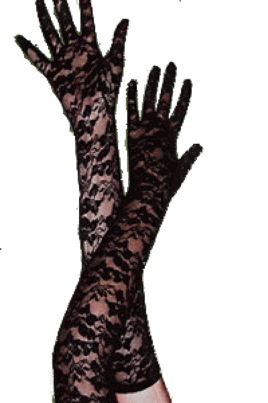 R-Dessous Handschuhe schwarz