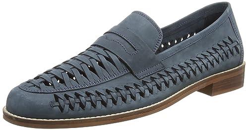 Dune BARMOUTH Bay, Mocasines para Hombre, Azul Navy-Nubuck, 44 EU: Amazon.es: Zapatos y complementos