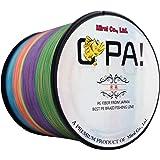 OPA PEライン 4編 釣り糸 高強度 高感度 特殊コーティング 1000m 500m 300m