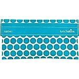 LunchSkins Reusable Snack Bag - Aqua Dot