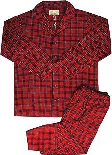 The Lady/'s Genuine Irish Flannel Lounge Pajama Pants BLUE Plaid Size XL