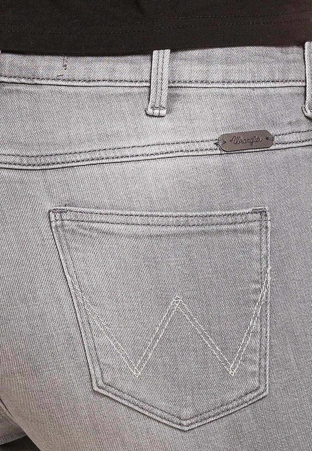 f8fca96031 Wrangler - Jeans - Femme - Gris - 27W x 34L: Amazon.fr: Vêtements et  accessoires