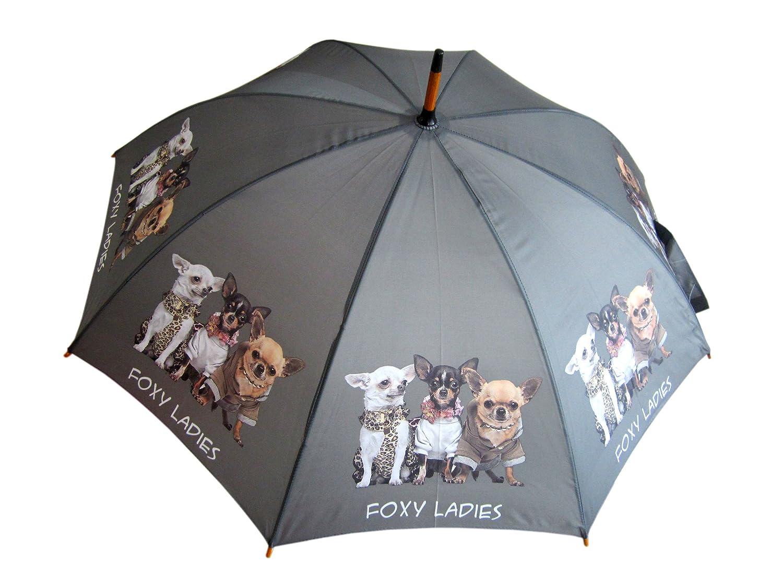 AS4HOME Regenschirm - Stockschirm Chiwawa - Chihuahua