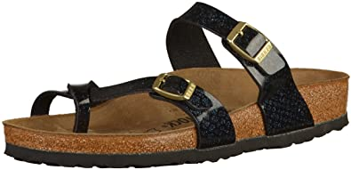 Birkenstock Mayari Birko-Flor Regular Magic Snake Black Size EU 36 - US L5 8add26cf8be