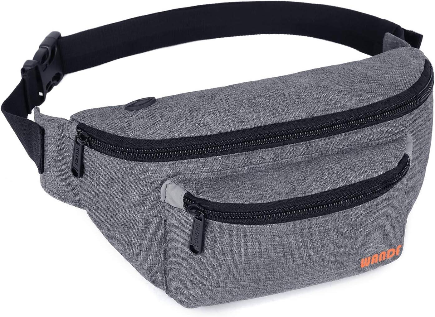 Mens Women Waist Bag Fasion Pack Hip Camping Money Pouch Belt Sport Shoulder Bag