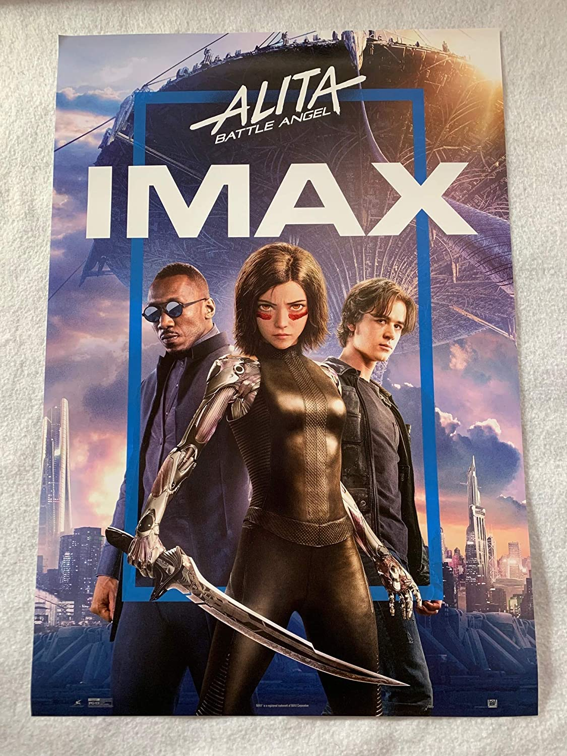 Alita Battle Angel 13 X19 Original Promo Movie Poster Imax 2019 At Amazon S Entertainment Collectibles Store