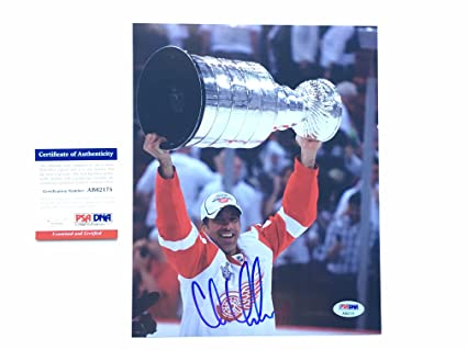 20b0e9812 Amazon.com  Chris Chelios Hot! signed autographed Detroit Red Wings ...