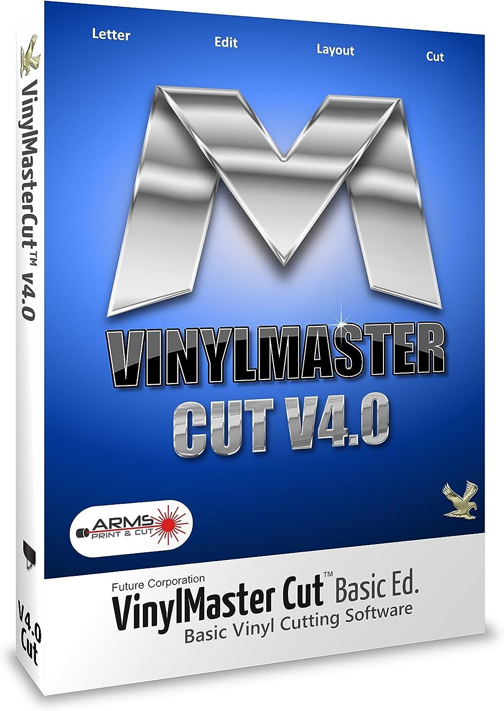 No Disc VinylMaster Cut Basic Vinyl Cutter Plotter Sign Making Software